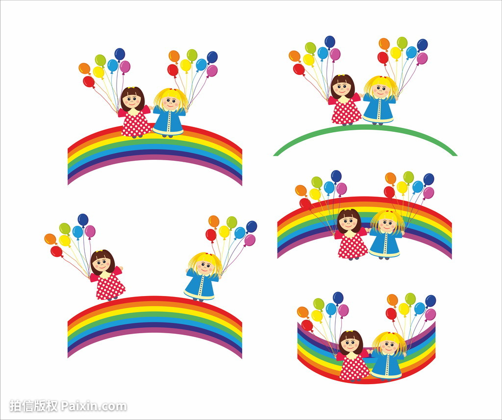 彩的,颜色,音乐会,情感,朋友,友好的,朋友,女孩,绿